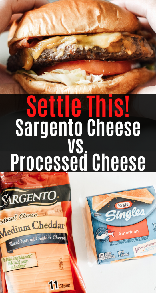 Sargento Cheese vs Processed Cheese slices