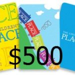 $500 The Children's Place Giveaway #babyshower!