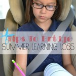 What is Summer Learning Loss and How You Can Help Prevent It. #SummerLearning