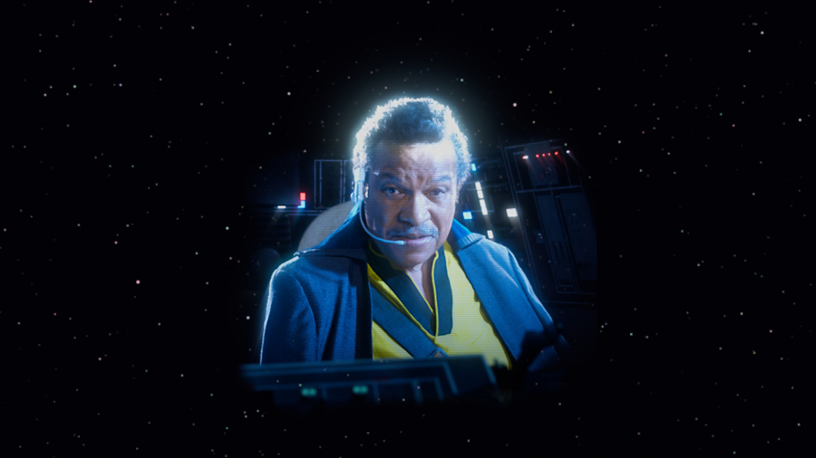 Lando from Star Wars
