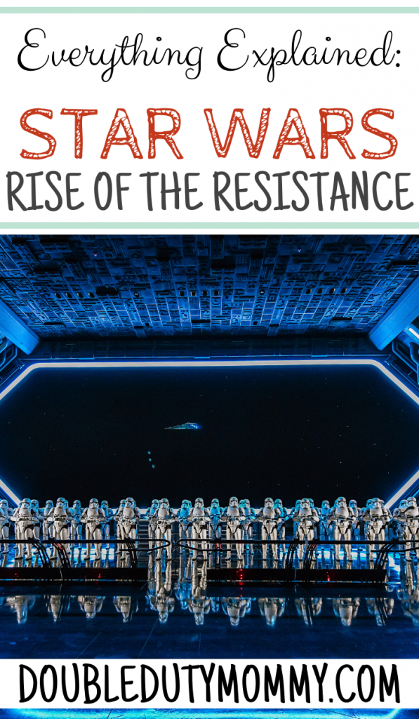 Star Wars Rise of the Resistance - Everything Explained