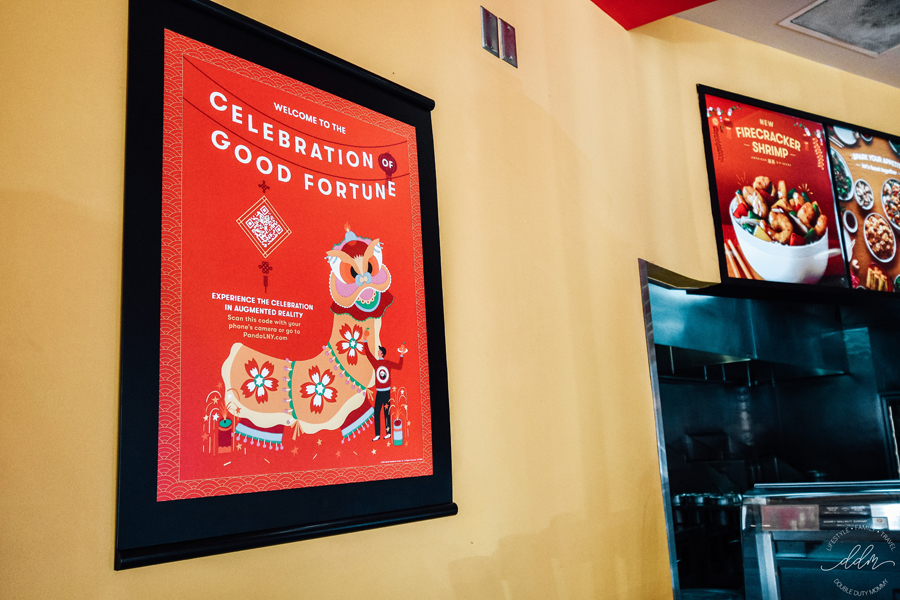 Panda Express lunar new year